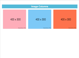 Bootstrap snippet Image Columns Bootstrap