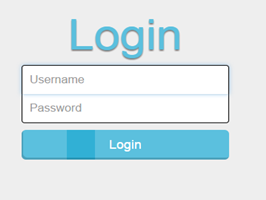 Bootstrap snippets. Login form with icon