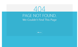 Bootstrap snippet 404 error page