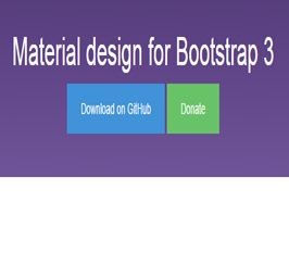 Bootstrap snippet Material design for Bootstrap 3 bootdey