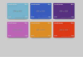 Bootstrap Bootdey new snippets cards example