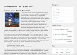 Bootstrap snippet blog item