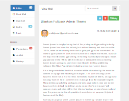 Bootstrap View mail example
