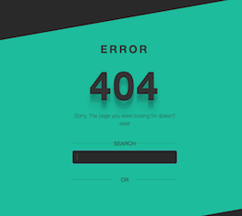 Bootstrap Server error 404 bootdey example