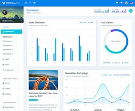 MaterialPro Bootstrap Dashboard Template