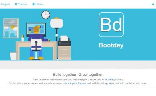 Bootstrap template Bootdey