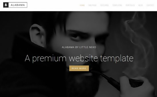 Bootstrap template Alabama Modern Multipurpose Template