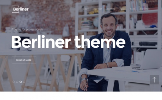 bootstrap Theme BERLINER Bootstrap HTML5 Template