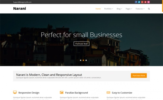 NARANI Responsive Multi Layouts Theme