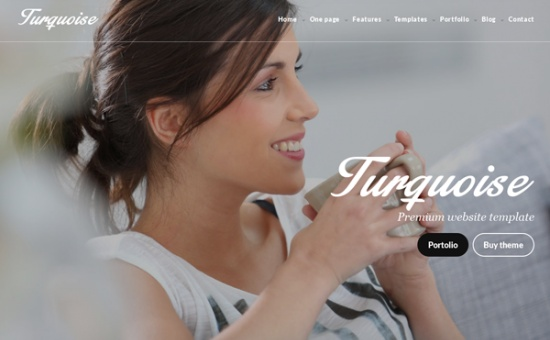 bootstrap Theme Turquoise Bootstrap Multipurpose HTML Website