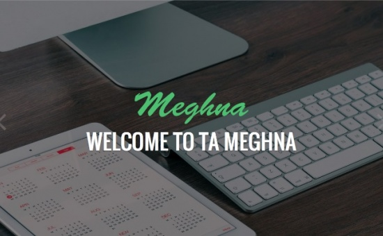 Bootstrap template TA Meghna Free Multi Purpose WordPress Theme