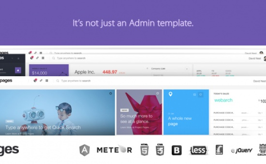 bootstrap Theme Pages Admin Dashboard Template Web App
