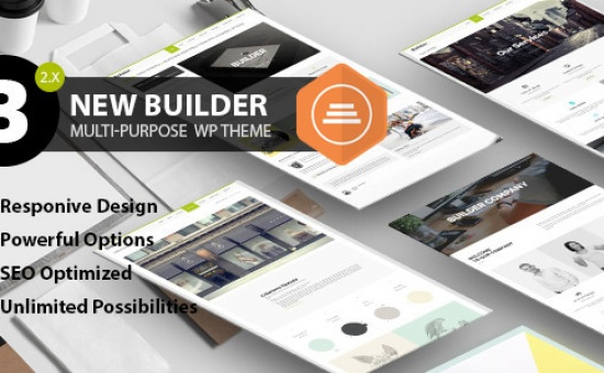 Bootstrap template BUILDER Responsive Multi Purpose Theme