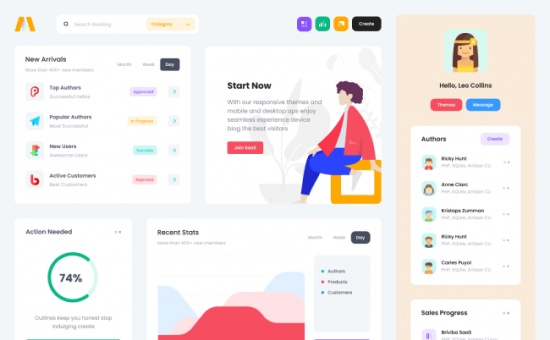 Bootstrap Metronic Bootstrap Admin Template template