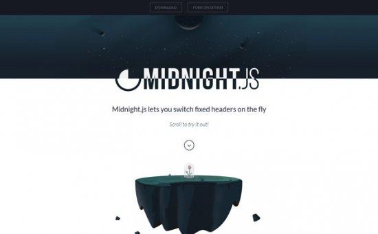 Bootstrap framework utility Midnight