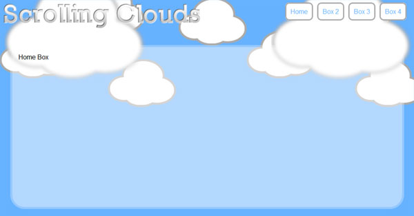Utility Parallax scrolling clouds jquery
