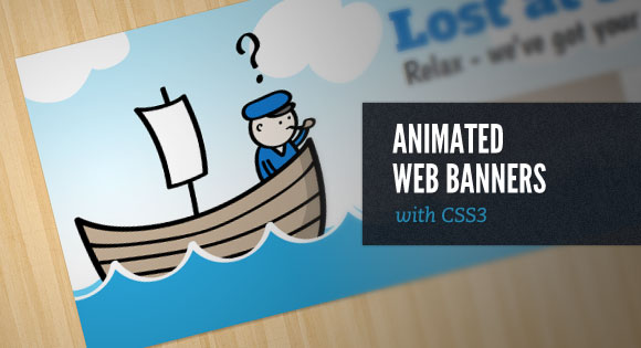 Bootstrap framework utility animated web banners with css