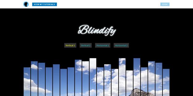 Bootstrap framework utility Blindify
