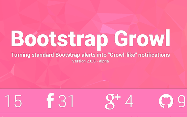 Utility Bootstrap Growl