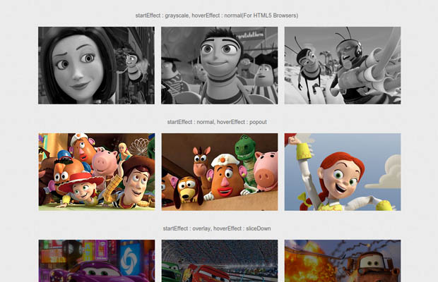 Adipoli jQuery Image Hover Plugin  Bootstrap Html css js