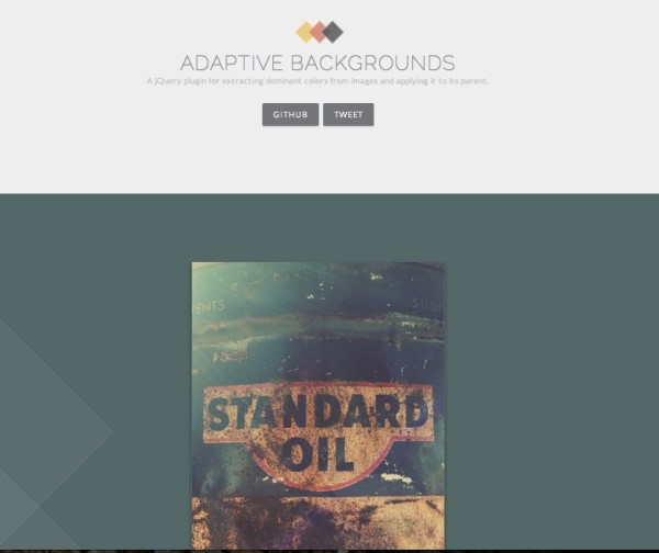 Bootstrap framework utility Adaptive Background