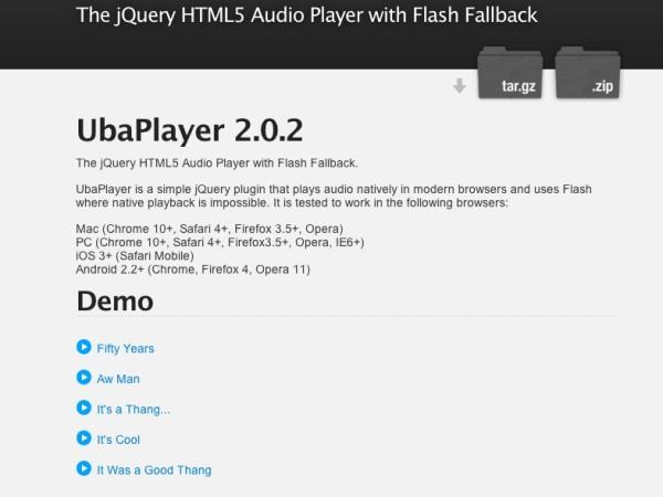 Utility UbaPlayer